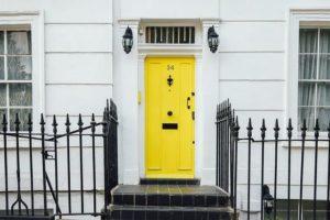Porte d'entrée neuve et de qualité